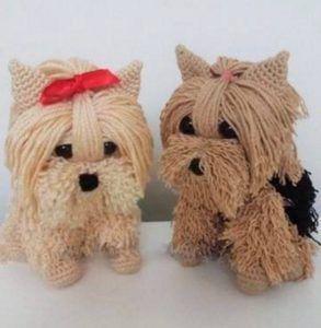 Amigurumi Süs Köpeği Yapılışı   elisiorgudukkani.com