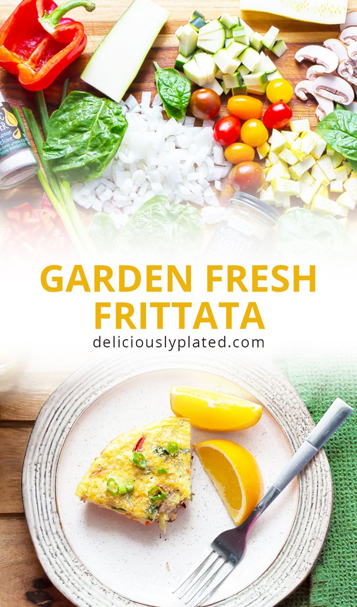 Start your day with a nutritional boost.  This garden fresh frittata is packed with summer produce and it is absolutely delicious! #sponsored #spiceupsummer #cookwithpurpose @FrontierCoop