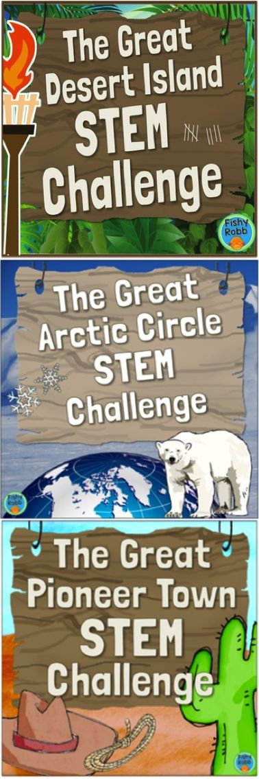 STEM Bundle includes all three of my design challenge packs - 15 exciting STEM challenges in all!