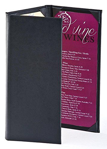 (15) Wine List Menu Covers with 3-Panel, 3-Page View Desi... https://www.amazon.com/dp/B01MA0XVOV/ref=cm_sw_r_pi_dp_x_N9ehyb7WK6XR6