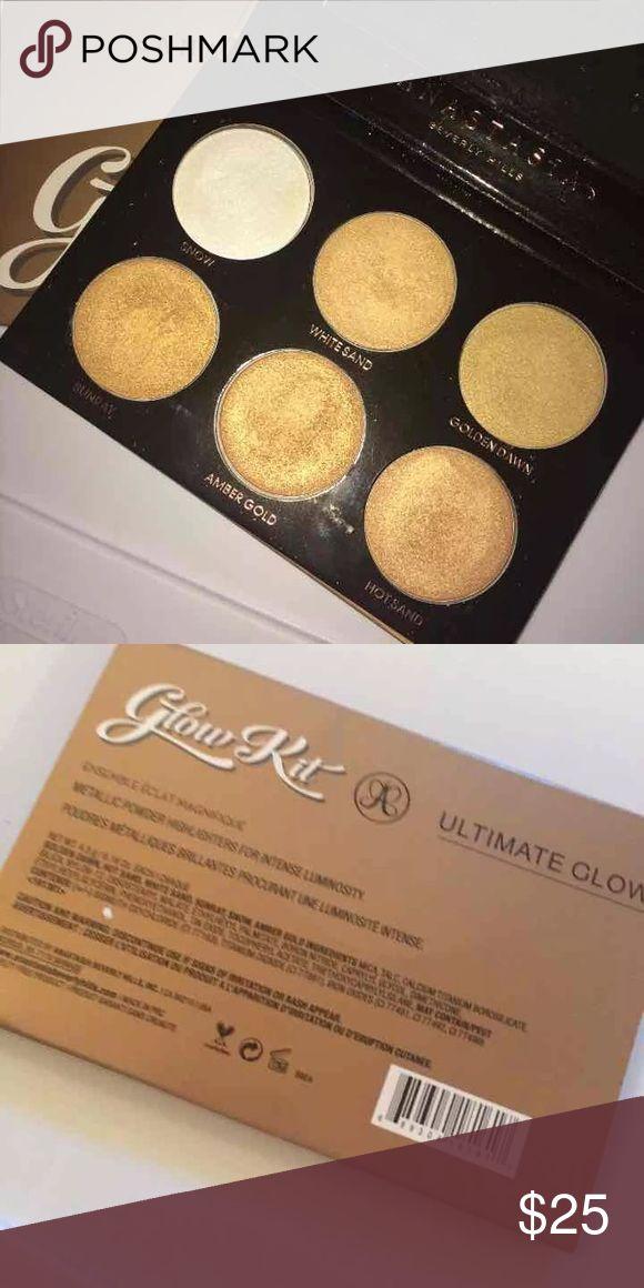 Anastasia BH Ultimate Glow Kit Used twice. Makeup Luminizer