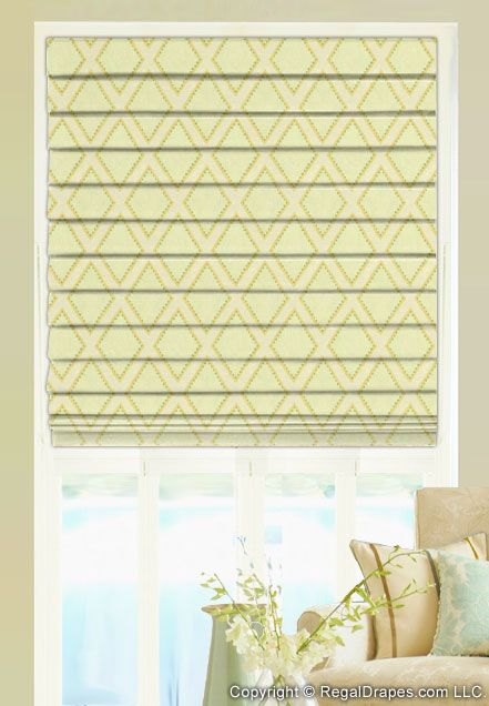 17 best images about custom roman shades on pinterest window treatments shape and flats. Black Bedroom Furniture Sets. Home Design Ideas