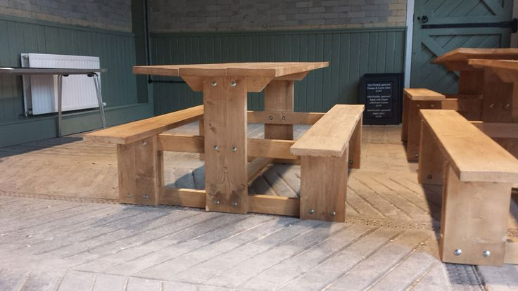 Nothing creates a relaxed atmosphere in your garden quite like a picnic table. As all of our furniture is made by hand, we can create your table to any size and finsh you require.   As a guide a bespoke handcrafted 4 seater picnic table will cost you only £290. Get in touch today to discuss your requirements and receive a free no obligation quote.   http://bfmspecialists.co.uk/portfolio/gardens/