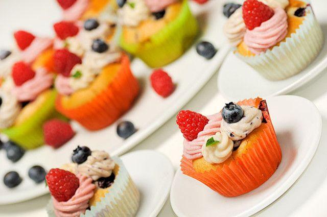 Muffins ai frutti di bosco    #vegan