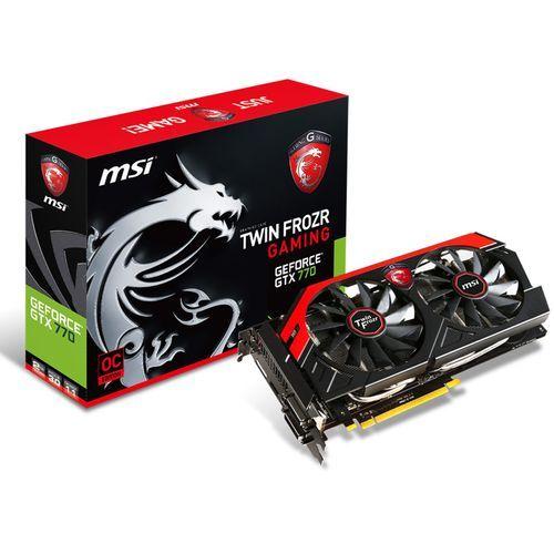 Msi - GeForce GTX 770 OC Twin Frozr - 2 Go - pas cher Achat/Vente Carte Graphique NVIDIA - RueDuCommerce