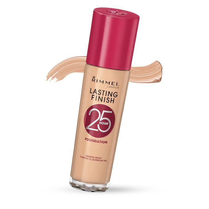 Rimmel Lasting Finish 25 Hour Foundation = a drugstore dupe for discontinued Double Matte Foundation by Estee Lauder