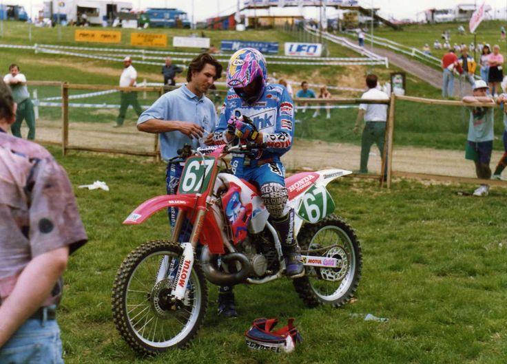 Greg Albertyn Hungary G.P.1993