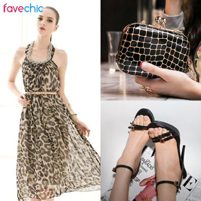 Be fabulous with Animal Print Collection from www.favechic.com! #favechic #ootd #korea #elegant #animal #fashion #style #best #top
