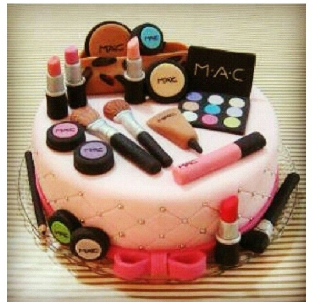Pampering Party cake!