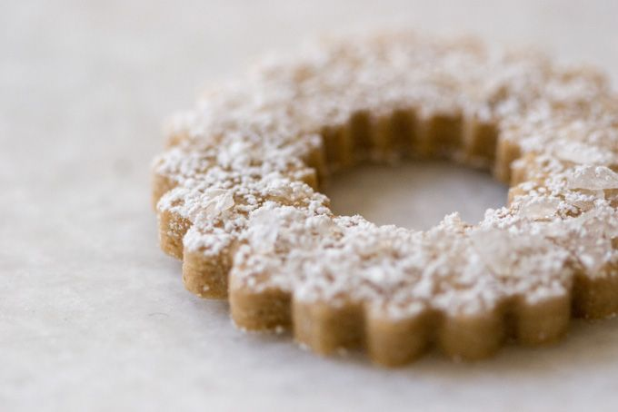 Swedish Rye Cookies - Powder-kissed and pretty, these Swedish Rye cookies are perfect for holiday cookie enthusiasts who are after a not-too-sweet, shortbread-style butter cookie. - from 101Cookbooks.com
