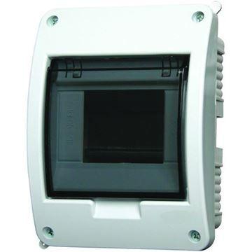 Tablou electric Eaton, 5 module, montaj incastrat, grad protectie IP40, BC-U-1/5-ECO