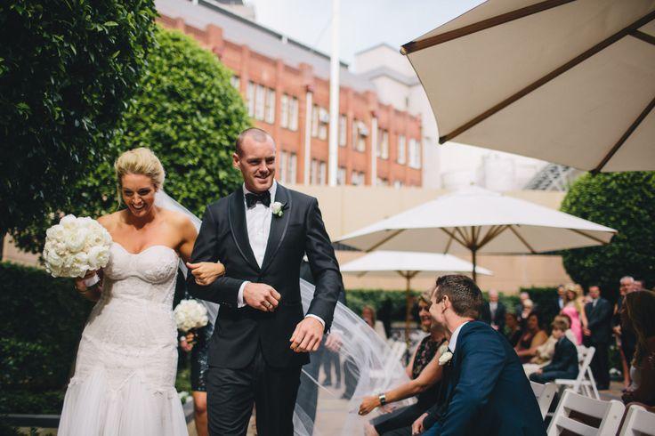 Congratulations Megan & Lachlan! - Park Hyatt Melbourne