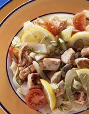 Kip met venkel - Vrij van: #suiker #gluten #tarwe #melk #kippenei #pinda #noten #vis, schaal- en schelpdieren #soja