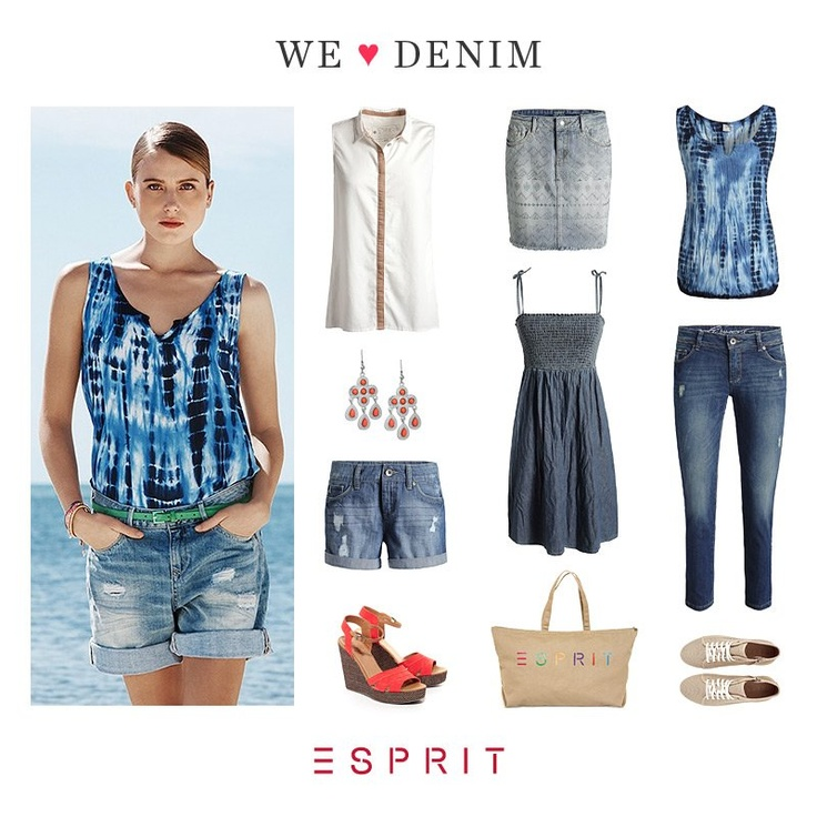 There are hundreds of reasons why we love #denim. Here are our favourite #Esprit picks.
