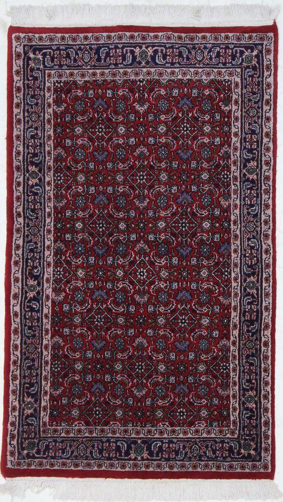 Bidjar Handgeknüpft Orientteppich   160 x 90 Rugs Teppich orient mattan