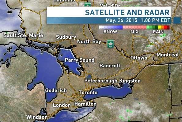 Chance of Thunder Storms tonight, #RoofRepair #ALINETO #TOWeather CBC News - Local Weather - Toronto, Ontario