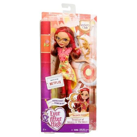 Ever After High Archery Club Rosabella Beauty Doll : Target