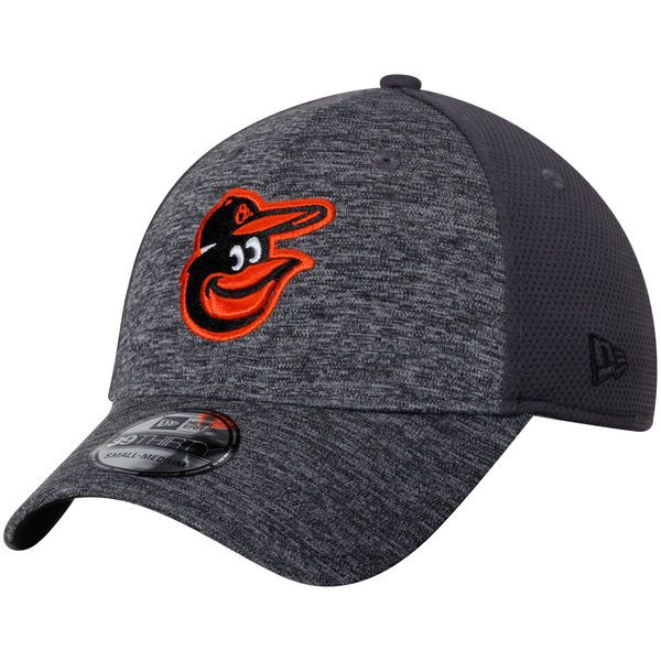 Baltimore Orioles New Era Shadowed Team 39THIRTY Flex Hat - Graphite - $27.99