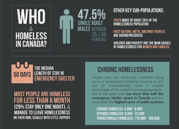 essays on homelessness in canada Though homelessness is on the rise among women and single-parent families headed by women 3 there are an executivesummary v olume 1 reviews and summarizes what the.