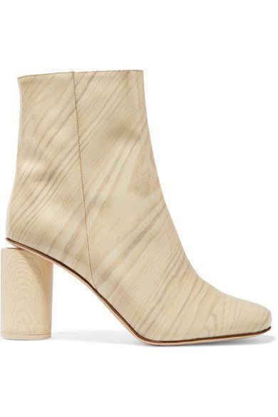 Acne Studios - Allis Patent-leather Boots - Neutral - IT39