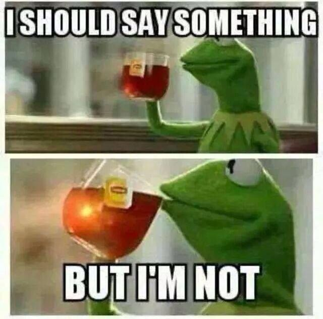 Image result for kermit the frog meme
