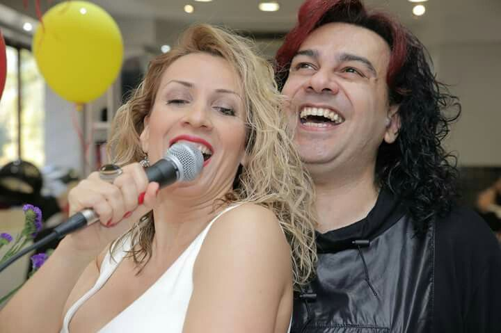 Welcome spring live event !!! NIKOS GAVALAS-MARIA LOUIZA  VASILOPOULOU