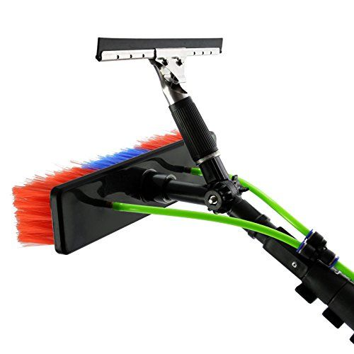 From 129.99 Maxblast 24ft Window Cleaning Pole / Water Fed Telescopic Brush / Extendable Cleaner Conservatory Roof