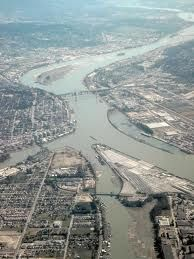 aerial photo of New Westminster BC, my neighborhood - Google Search