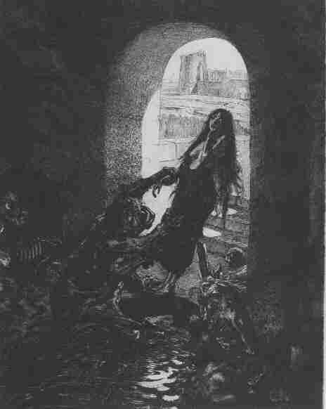 """Marcel Roux - """"Offrande à Moloch"""" c.1908"""