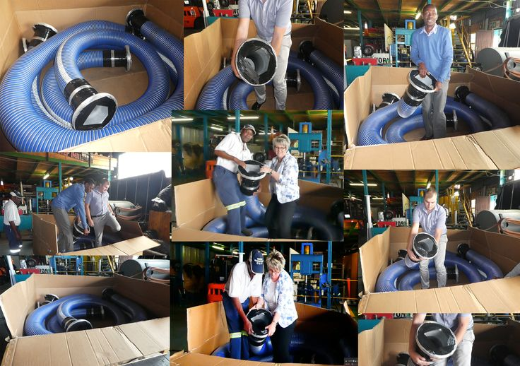 C&N staff interacting with a Marine Hose before being shipped to a client!👍 Only realizing NOW how large the equipment can get😮 💪 #marine #interacting #loadinghose Risk Identification, Risk analysis and Response Planning