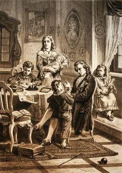 Friedrich Schiller. Historienbilder zu seinem Leben mit einer Postkartenserie von Emil Klein