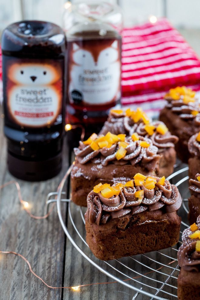 Chocolate Orange Spice Mini Loaf Cakes The Cook Him Recipe Mini Loaf Cakes Loaf Cake Mini Loaf