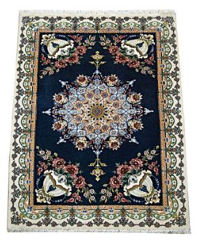 A wonderful Persian Isfehan 1 traional rugs for sale in #Melbourne. The colors of this rug are so eye catchy and suits your home interior    One of the Finest Persian Traditional weaving centers, exceptional craftsmanship finest Kork (merino) quality wool, silk inlay.