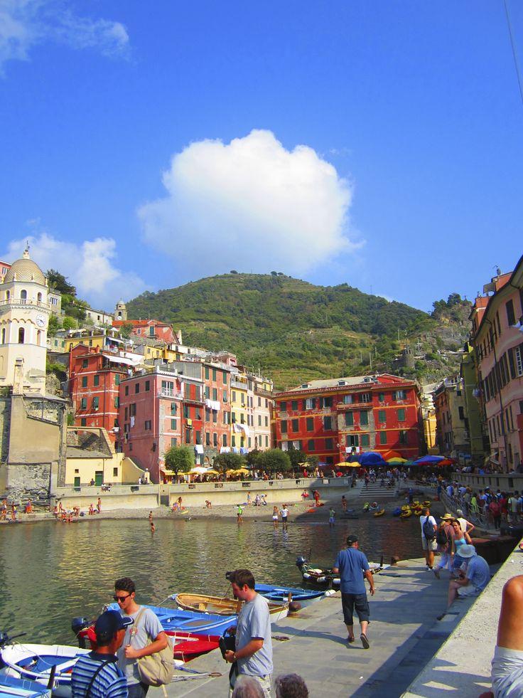 The port in Vernazza, Cinque Terre