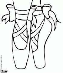 tekening balletschoenen - Google zoeken
