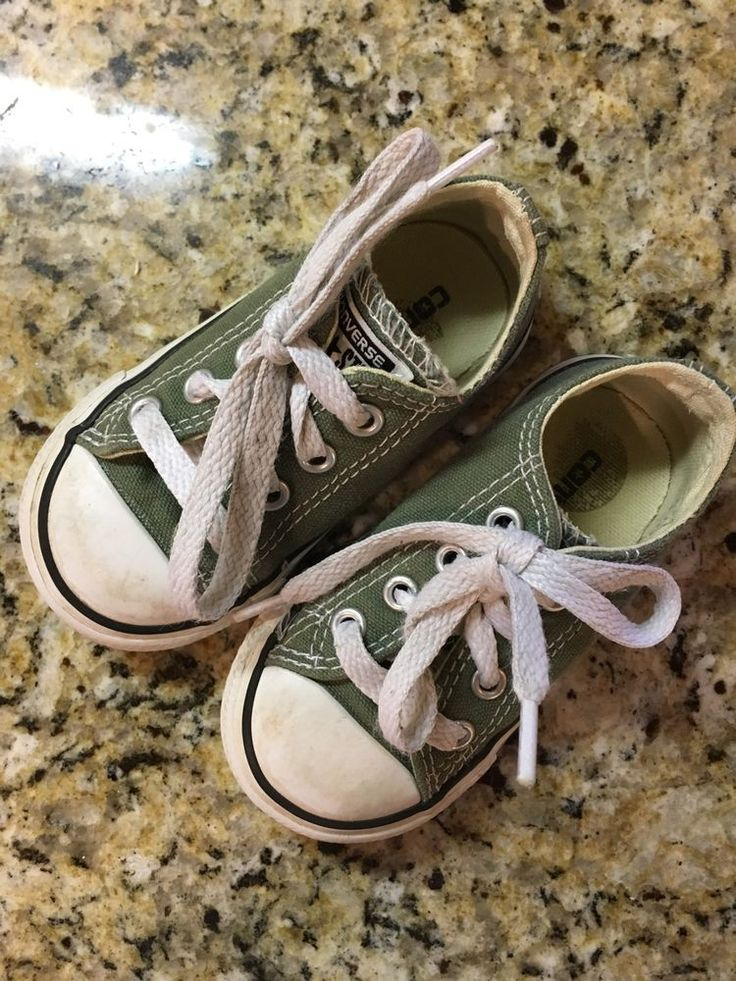 converse all star toddler girls/ boys sneakers tennis shoes size 5 from $9.99