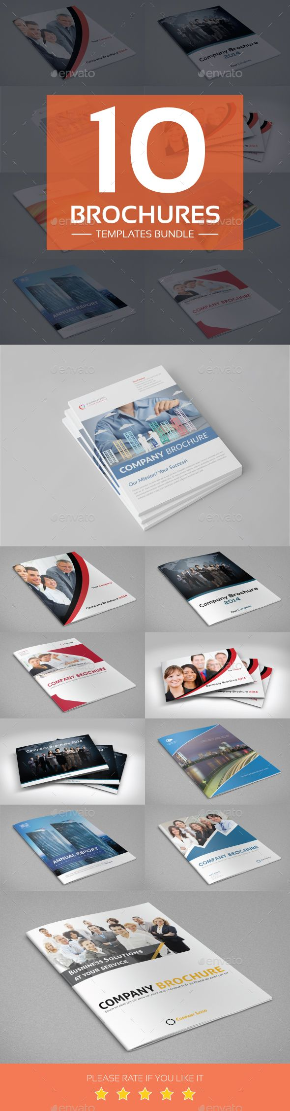 The 126 best brochure templates images on pinterest brochure brochures templates bundle accmission Images