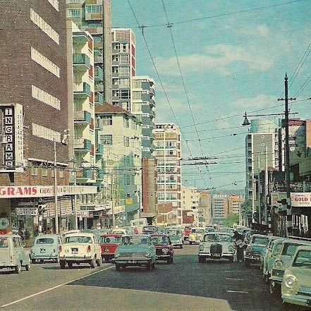 Twist Street Hillbrow - as I remember it from the sixties: https://www.facebook.com/propertysa/photos/a.148198116014.140495.109571966014/10153995141651015/?type=3