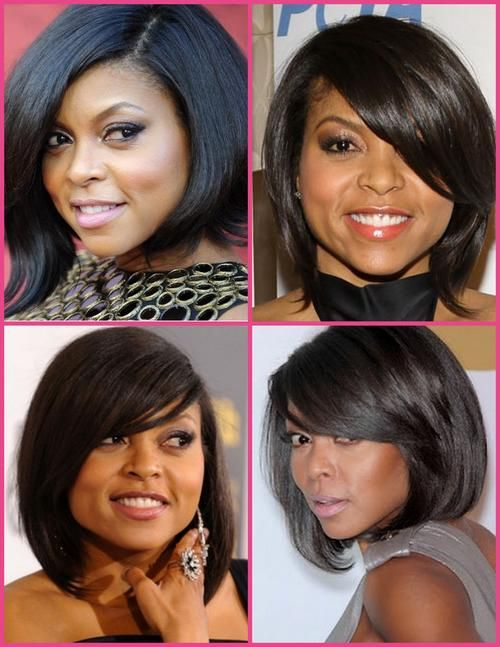 That moment when you find that perfect hairstyle, well that is just what happened to Taraji P. Henson when she cut her hair into the ever classic bob.