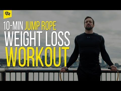 Quick Jump Rope Weight Loss Workout for Beginners [10 Minutes] | Crossrope Jump Rope Training Blog