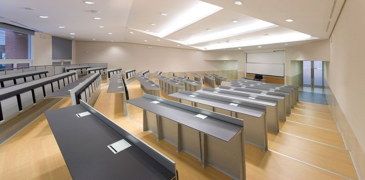 Blade is a #system for conference halls, university lecture theatres and auditorium @ Maria Luigi Bocconi University Educational Halls, Milan.