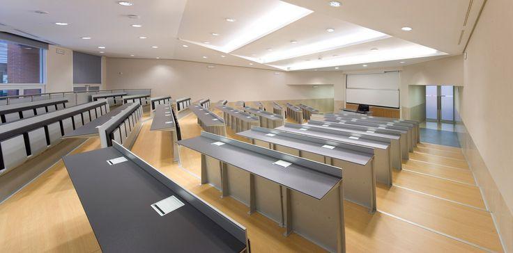 Classroom - Bocconi University - Milan  @radio24news