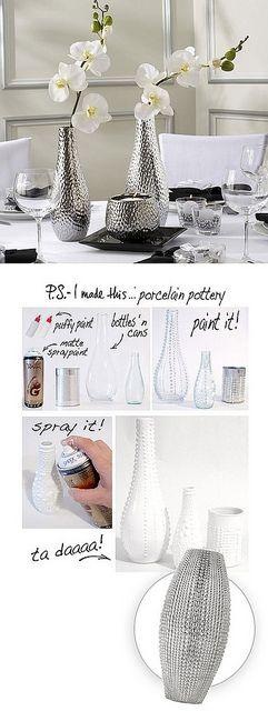 All sizes | DIY vases | Flickr - Photo Sharing!