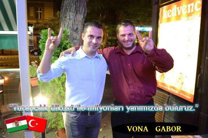 Macar Türkçü parti lideri - Vona Gabor