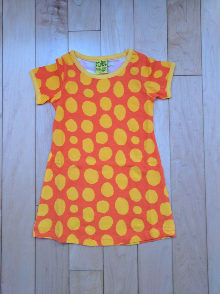 Kids will love how soft this short sleeve dress is from More Than A Fling, a Swedish brand that offers affordable organic cotton kids clothes. Offered by Modern Rascals.