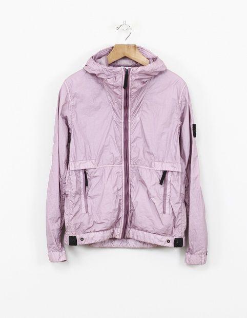 Stone Island - Membrana TC Hooded Jacket Lavender - 41823