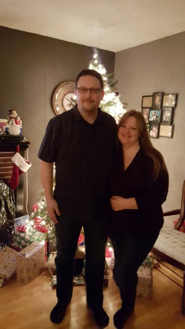 Rene and Joanne's first Christmas 2016