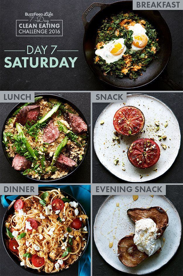 97 best clean eating challenge images on pinterest eat healthy day 7 of buzzfeeds 7 day clean eating challenge forumfinder Gallery