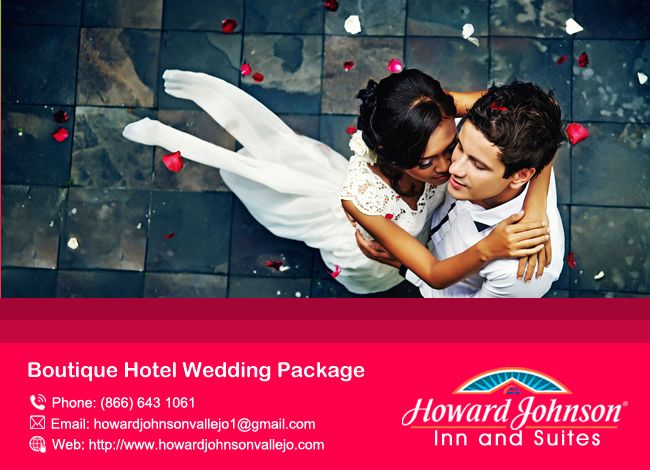 Howardjohnsonvallejo is the perfect Boutique Hotel Wedding Package for your big moment. https://goo.gl/Djw8GT