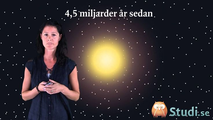 Hur allt började - big bang - Youtube-video